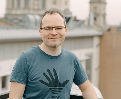 Filep Szabolcs, a PROGmasters egyik alapítója