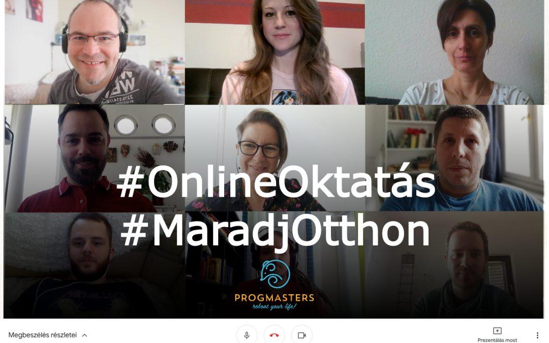 Így sikerült 3 nap alatt online oktatásra állnunk